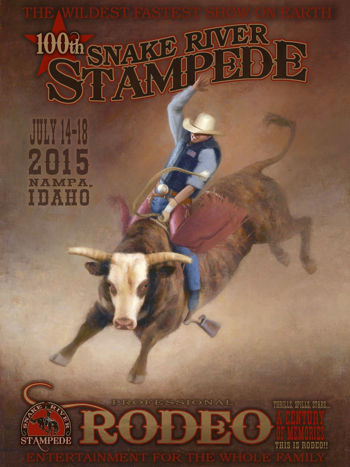 2015 OFFICIAL RODEO POSTER