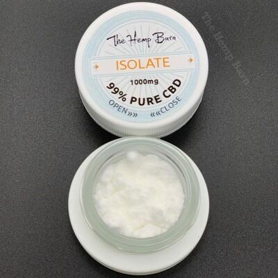 99% Pure Hemp Derived Isolate