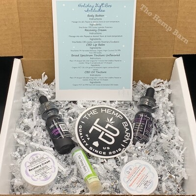 Topical/Tincture Holiday Gift Box