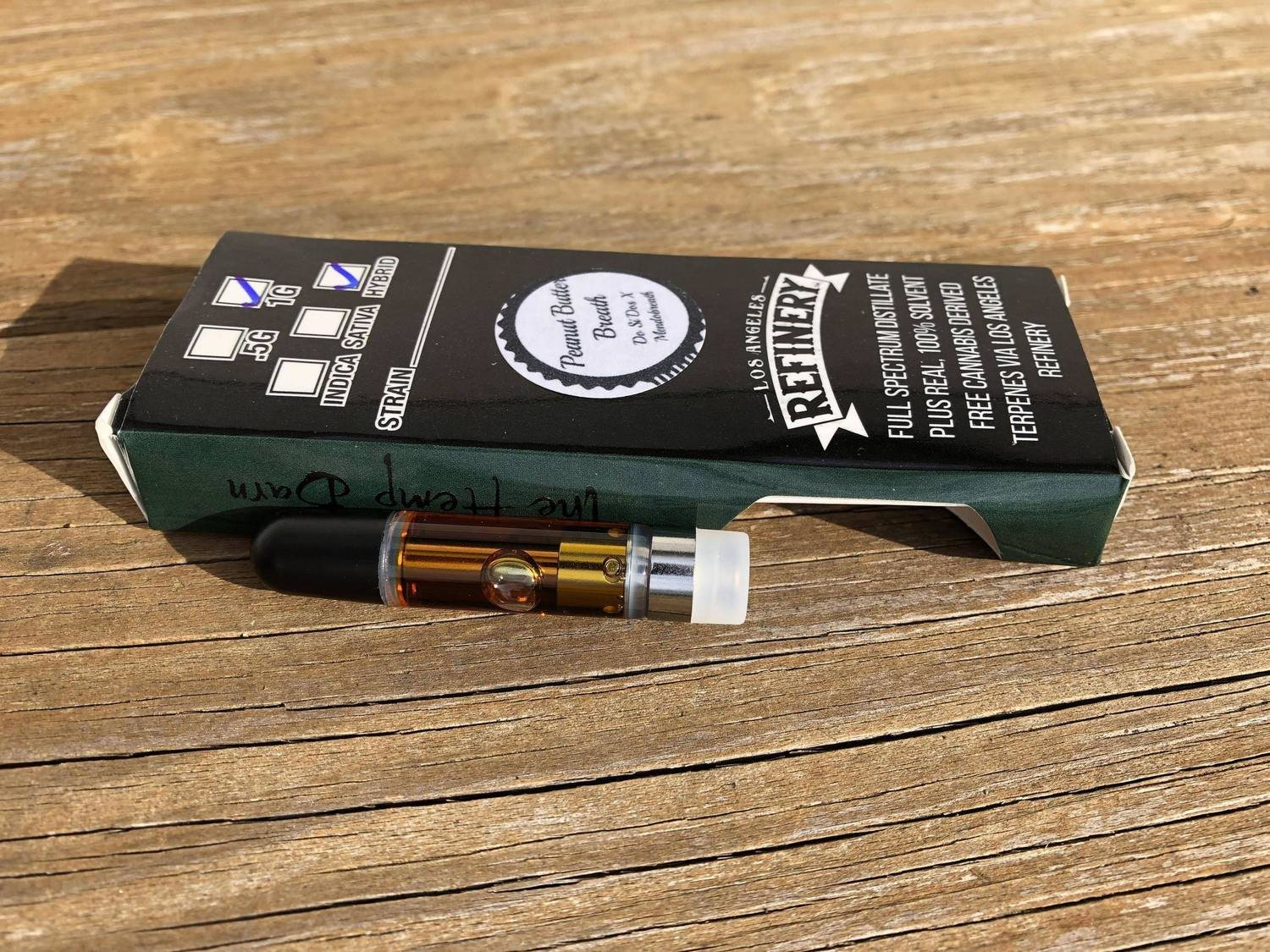 Distillate Vape Cartridge