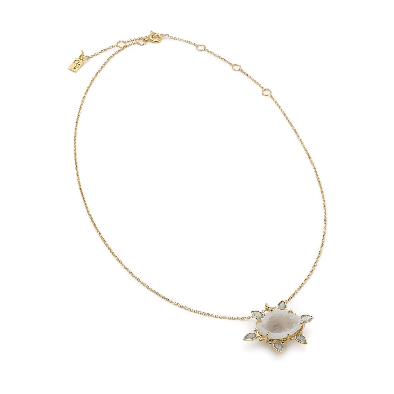 Geode Labra Necklace