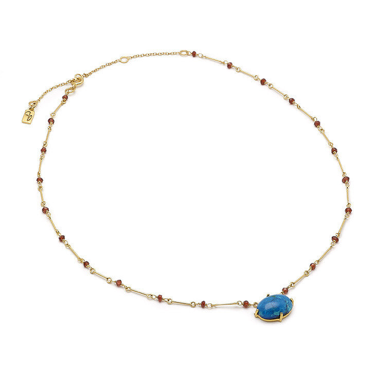 Picass Blues Necklace