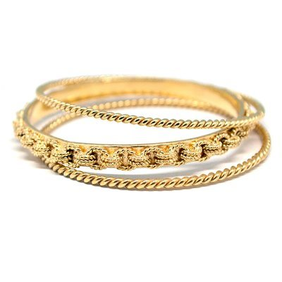Trio Bangle Chain