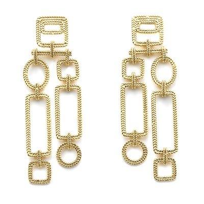 Mondrianetti Earrings