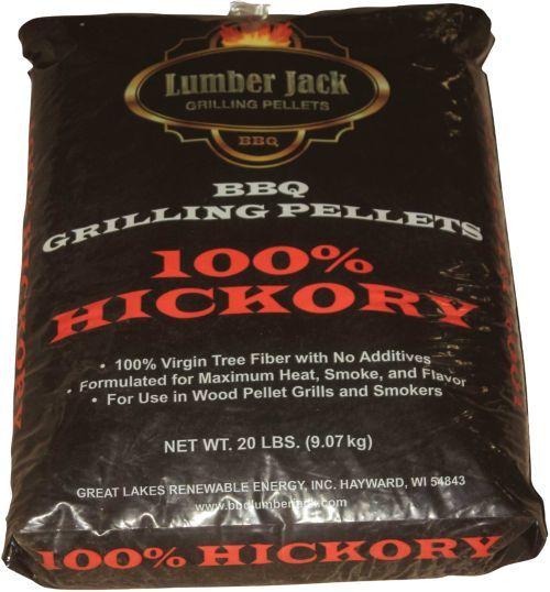 Lumber Jack 100% Hickory Pellets  20lb 00268