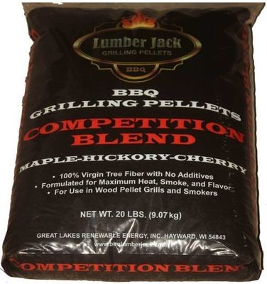 Lumber Jack Competition Blend (Maple-Hickory-Cherry) Pellets  20lb
