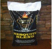 Lumber Jack Mesquite Blend Pellets   20lb 00272
