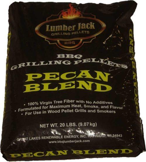 Lumber Jack Pecan Blend Pellets 20lb