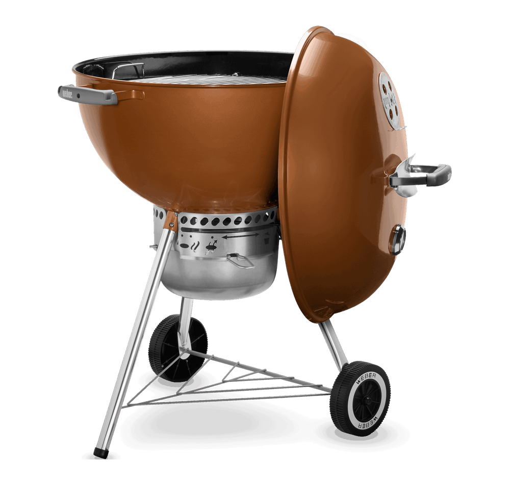 "Weber Original Kettle Premium Grill 22"", COPPER 0077924032493"
