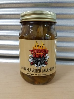 Trigger Happy Bacon Flavored Jalapenos