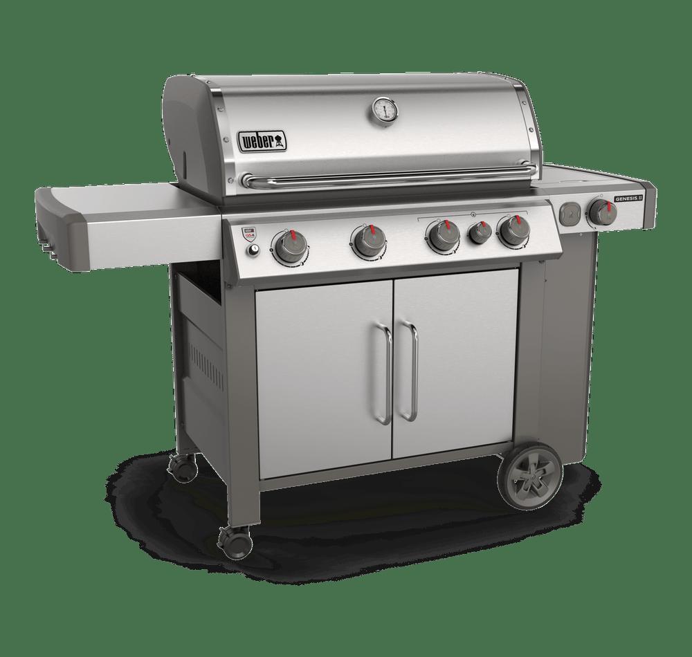 Weber-Genesis® II S-435 Gas Grill -Stainless Steel 0077924080289