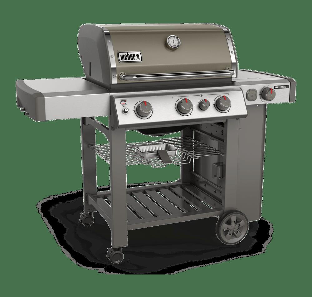 Weber-Genesis® II E-330 Gas Grill-Smoke 0077924083808