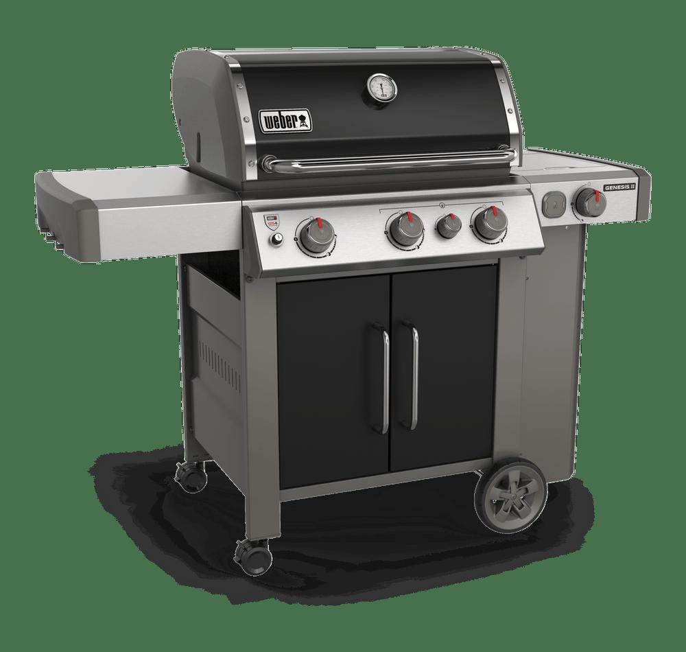 Weber- Genesis® II E-335 Gas Grill-Black 0077924083938