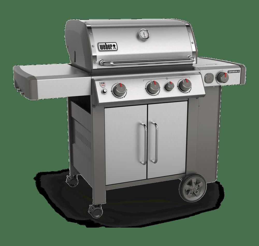 Weber-Genesis® II S-335 Gas Grill-Stainless Steel 0077924083952