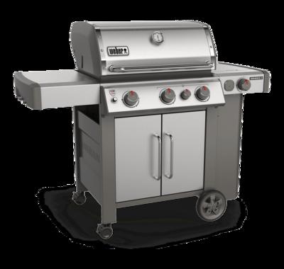 Weber-Genesis® II S-335 Gas Grill-Stainless Steel