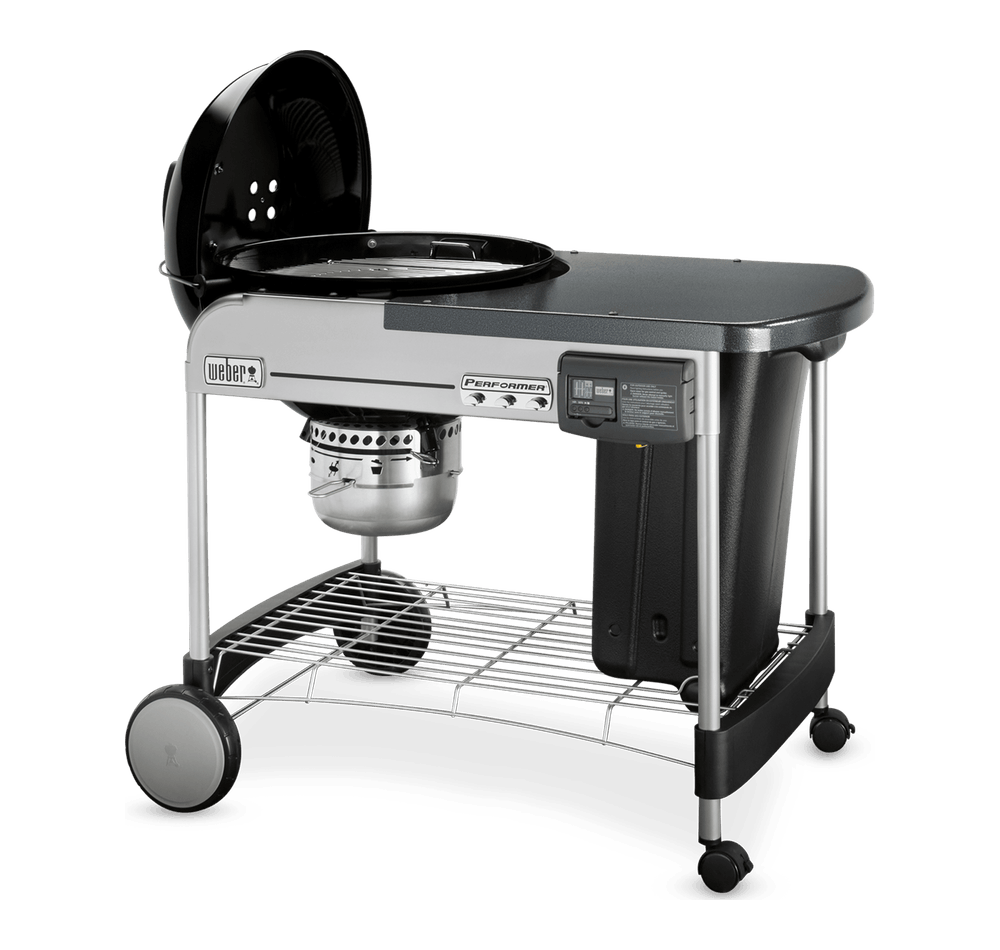 "Weber-Performer Deluxe Charcoal Grill 22"" -Black 0077924032356"