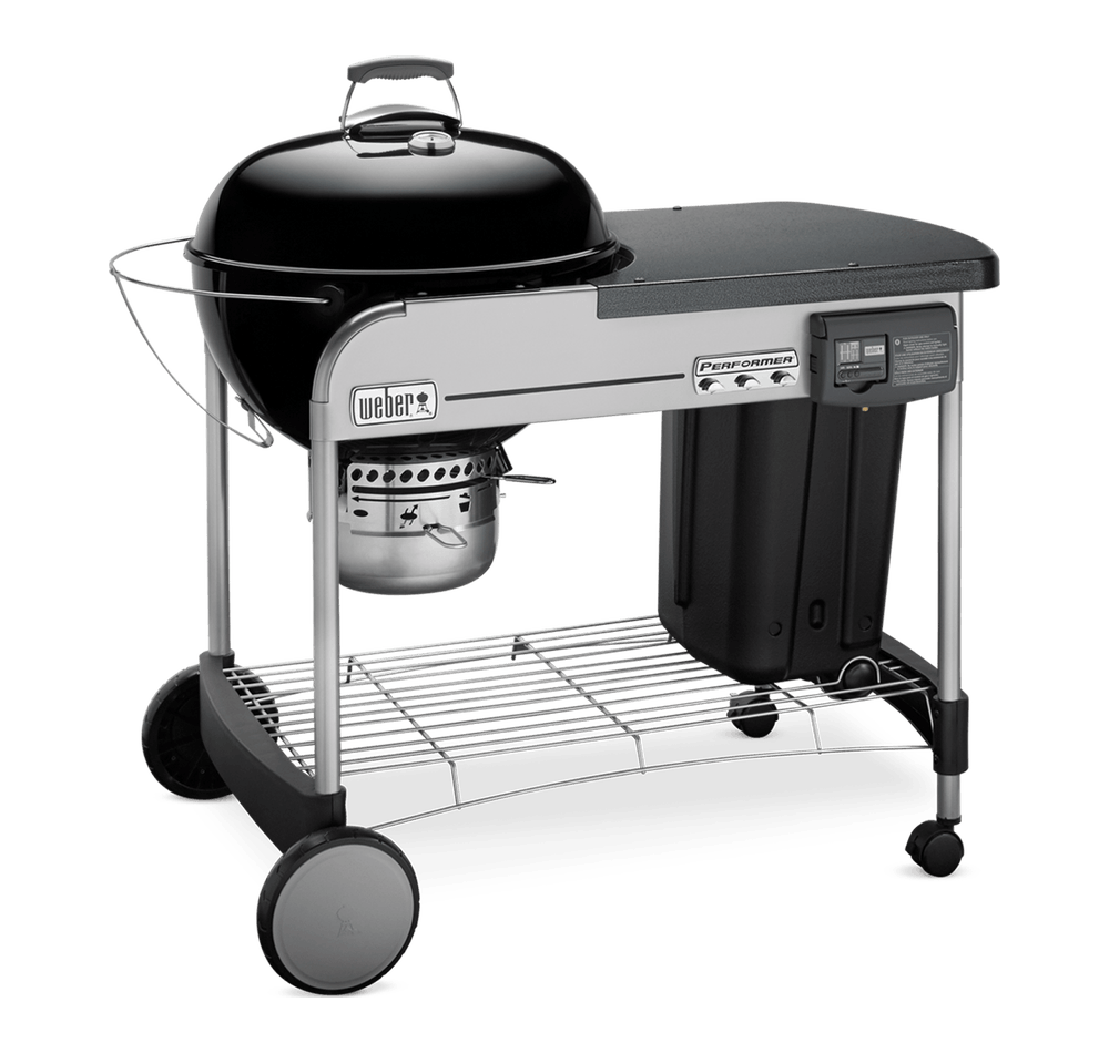 "Weber-Performer Deluxe Charcoal Grill 22"" -Black"