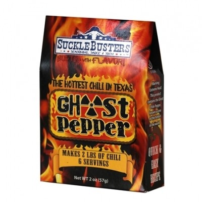 Sucklebusters- Ghost Pepper Chili Seasoning