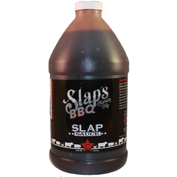 Slaps BBQ-Squeal Like a Pig Slaps Sauce 64 oz. 0040231406806
