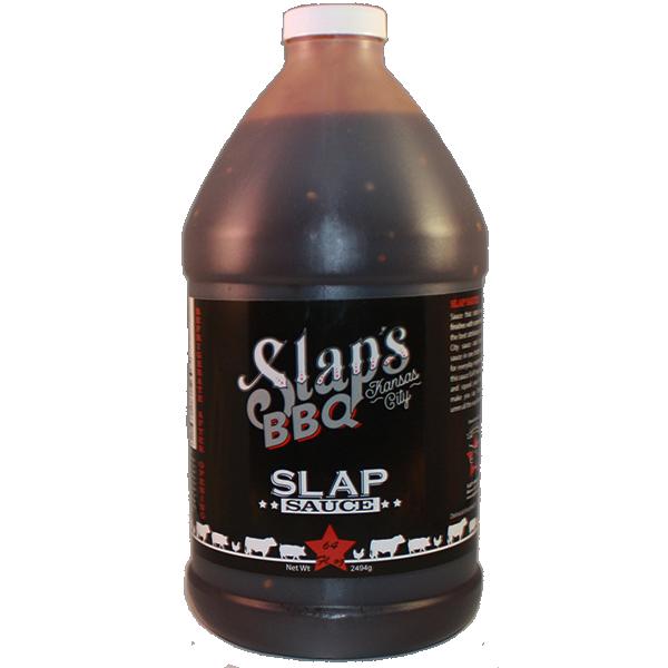 Slaps BBQ-Squeal Like a Pig Slaps Sauce 64 oz.