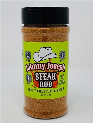 Johnny Joseph Steak Rub, 12oz 0860000714907