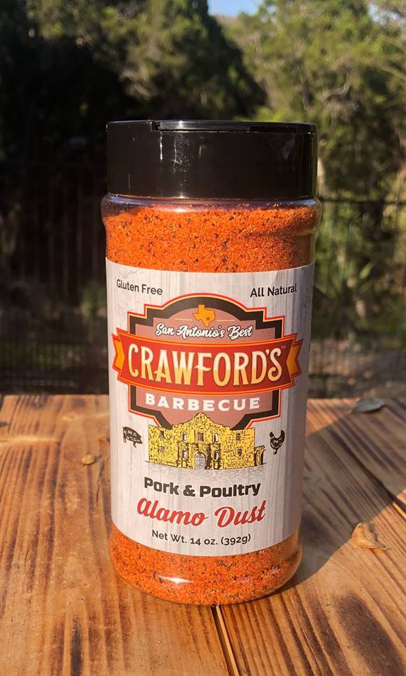 Crawfords BBQ- Chicken & Poultry- Alamo Dust 0860000011761