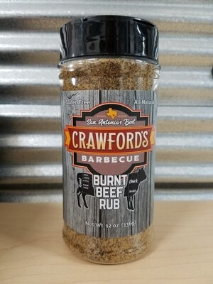 Crawfords BBQ- Burnt Beef BBQ Rub