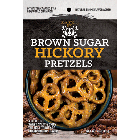 Loot n Booty Brown Sugar Hickory Pretzels
