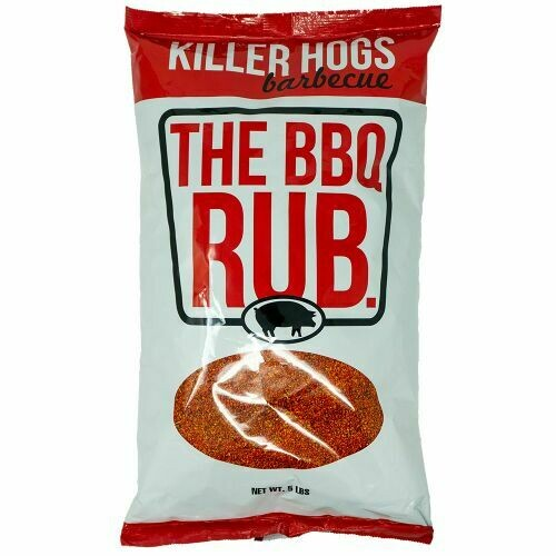 Killer Hogs- Dry BBQ Rub- 5 lb Bag