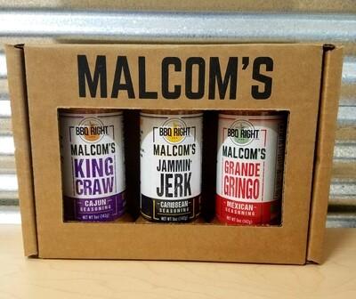 Malcom's 3 piece Gift Set