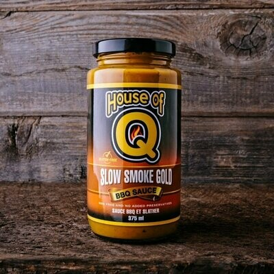 House of Q-Slow Smoke Gold BBQ Sauce