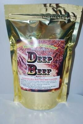 Smoky Okie's Deep Beef Brisket Injection and Beef Flavoring, 1 lb