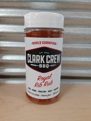 Clark Crew BBQ- Royal Rib Rub