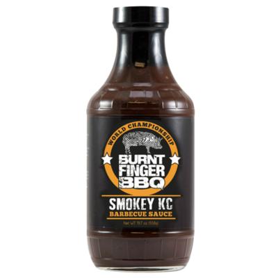 Burnt Finger BBQ- Smokey KC Barbecue Sauce