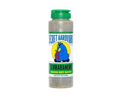 Secret Aardvark- Serrabanero Green Hot Sauce