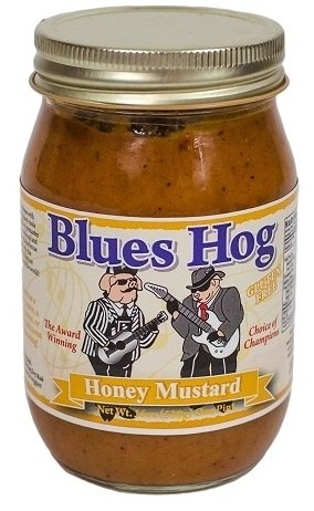 Blues hog Honey Mustard Sauce Pint 0665591893068