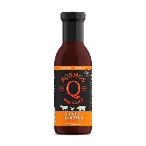 Kosmos Honey Jalapeño BBQ Sauce 0851818003598