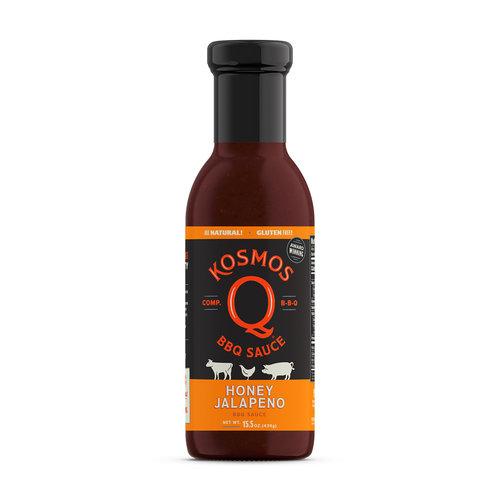 Kosmos Honey Jalapeño BBQ Sauce