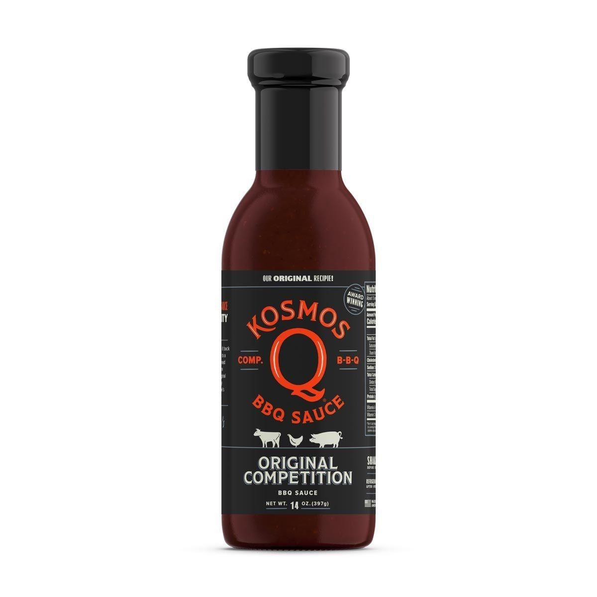 Kosmos Competition BBQ Sauce