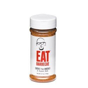 Eat BBQ Zero to Hero Sweet Rub 6.7 oz 0700953352088