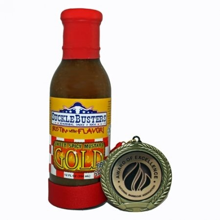 SuckleBusters Mustard BBQ Sauce 0858389003460