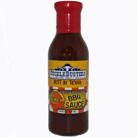 SuckleBusters Peach BBQ Sauce 0858389003323