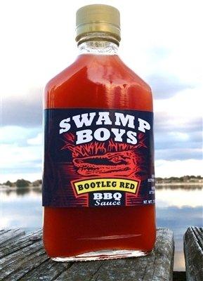 Swamp Boys Bootleg Red Vinegar BBQ Sauce - 7oz Flask 0811951009932