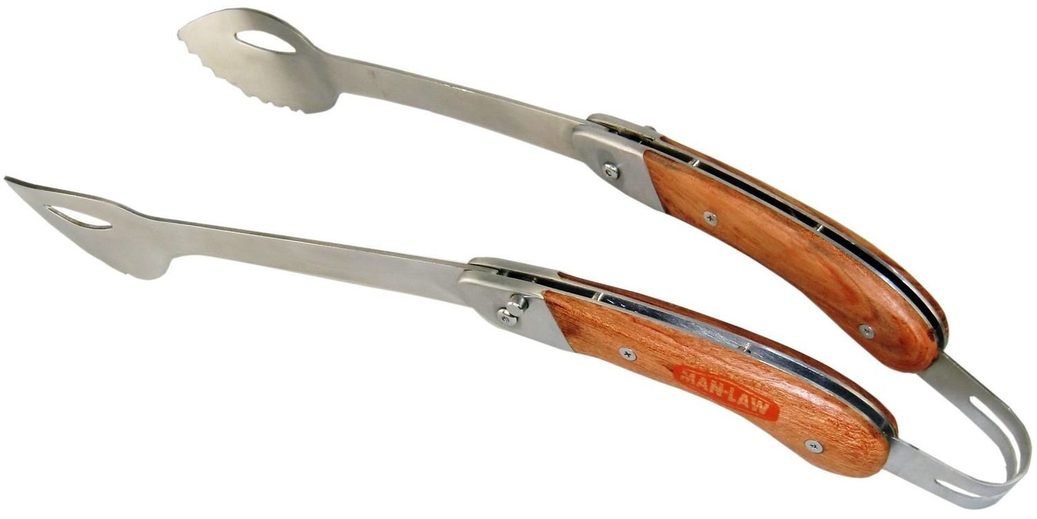 Foldable BBQ Tongs