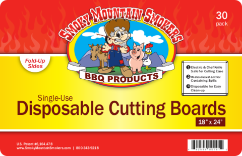 Disposable Cutting Boards - 18