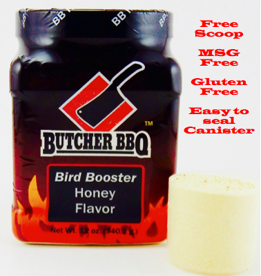 Butcher BBQ Bird Booster Honey 0045635747722
