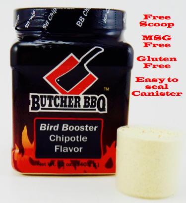 Butcher BBQ Bird Booster Chipotle