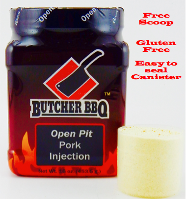 Butcher BBQ Open Pit Injection