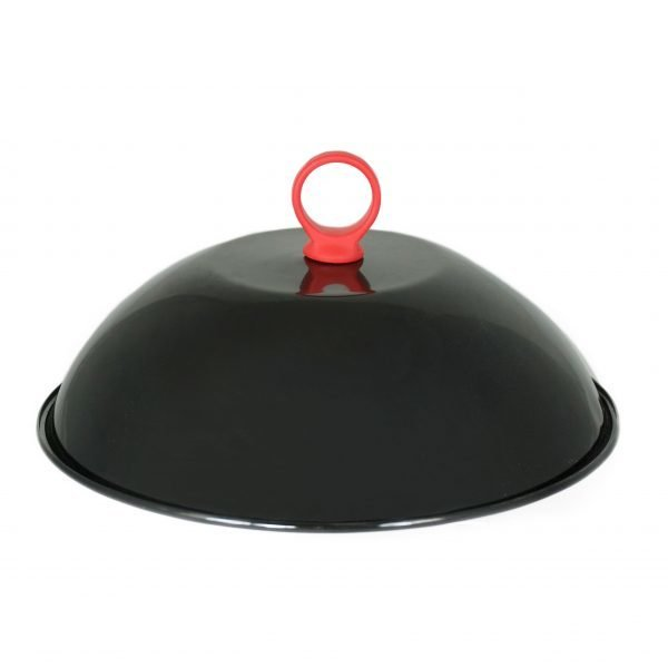 Enameled Grill Dome with Silicone Handle 0050016751694