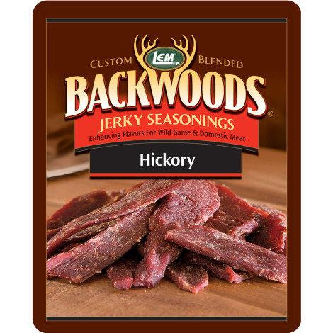 LEM BACKWOODS HICKORY JERKY SEASONING 0734494091540